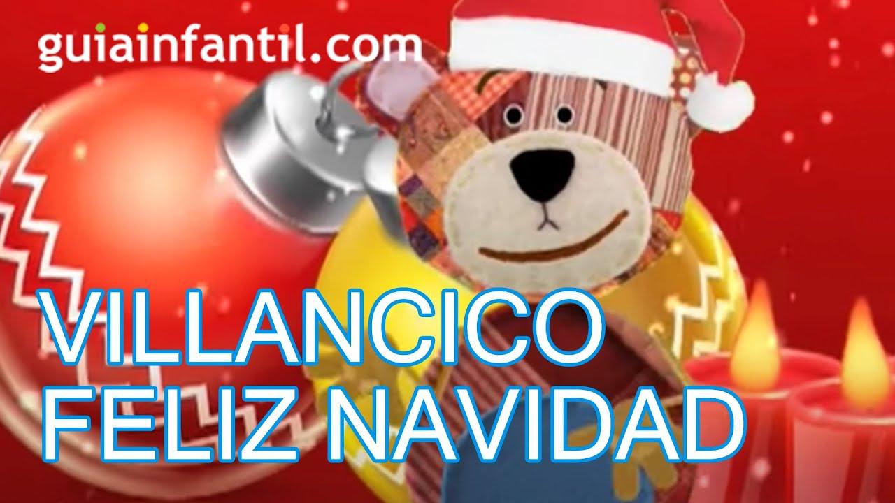 Feliz Navidad, villancicos de Navidad. Merry Christmas en español
