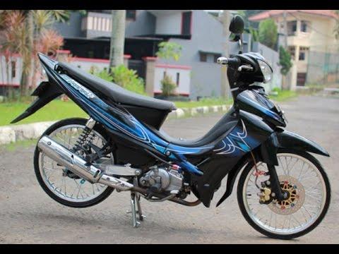 Video Motor Trend Modifikasi | Video Modifikasi Motor Yamaha Jupiter Z Velg Jari-jari Terbaru Part 2