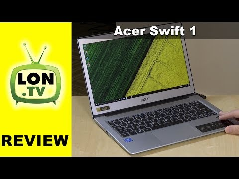 Acer Swift 1 Review – $359 Laptop with 13.3″ IPS Display and N4200 Processor SF113-31-P5CK