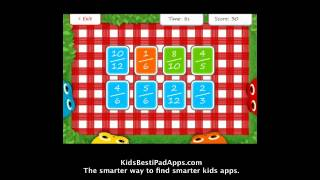 iPad Apps for Kids: Squeebles Fractions