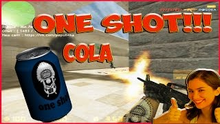 ★ONE SHOT cola cs★папулина ферма★ Папуля кс ★ cs 1.6.★кс 1.6. приколы★ ван шот кс 1.6