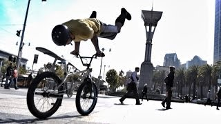 Bike Parkour -Streets of San Francisco!