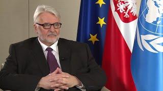 Polish foreign minister: Macron
