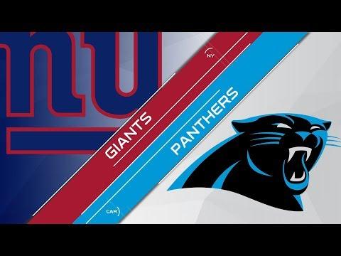 Season 13 - Week 5: New York Giants vs Carolina Panthers