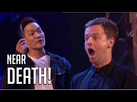 BGT Most Dangerous NEAR DEATH Magic Act! Do Not Blink | Britain's Got Talent 2018 (видео)