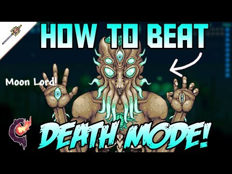 How to Easily Beat Moon Lord in Revengeance mode! Terraria