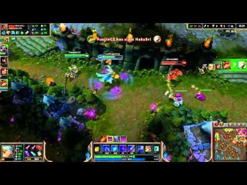 League of Legends s Fuujinem a Hansem