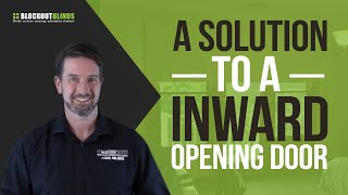 A Solution to an Inwards Opening Door