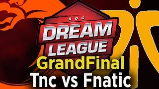 🔴 [Dota 2 EN LIVE ] TNC vs Fnatic Live, DreamLeague 8 GrandFinal Sea Live, TNC vs Fnatic Live