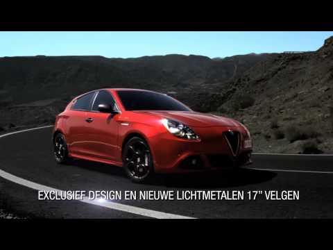 Nieuwe Alfa Romeo Giulietta Sprint