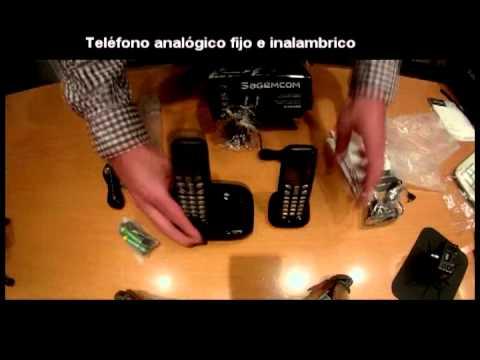 SAGEMCOM D160 DUO Teléfono fijo inalámbrico sin contestador