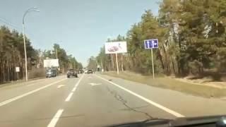 Авария на старо Обуховской трассе 28.03.17г.