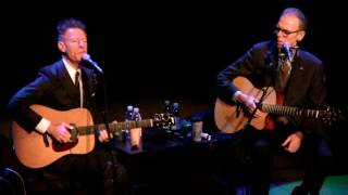 "Lyle Lovett and John Hiatt ""White Boy Lost In The Blues"" 1/27/17 Rutland, VT"