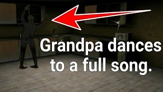 Grandpa dances to a full song - Granny Chapter Two
