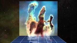 «Столпы Творения» 3D визуализация данных наблюдений ESO