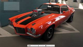 The Crew 2 Beta - Cruise'n for the First Time in my 1971 Supercharged Split Bumper Z28 Camaro!!!