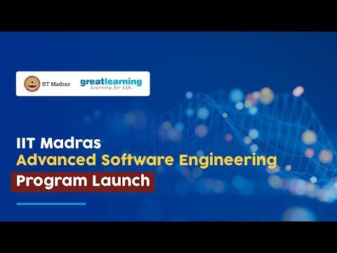 Advanced Software Engineering Program Launch | IIT Madras ...