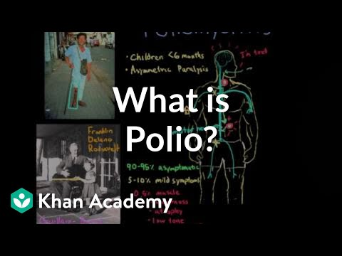 What is polio? (video) | Polio | Khan Academy