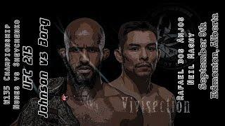 The MMA Vivisection - UFC 215: Johnson vs. Borg picks, odds, & analysis