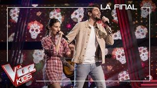 Anoche Alvaro cantó Loca como artista invitado en el programa español La Voz Kids en Antena 3
