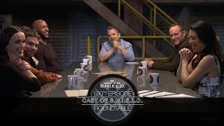 Агенты Щ.И.Т.а, Cast of S.H.I.E.L.D. Roundtable - Marvel's Agents of S.H.I.E.L.D. 100