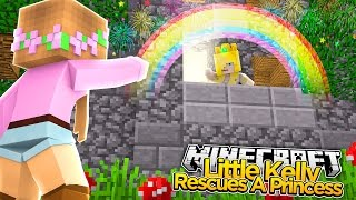 Minecraft - Little Kelly : RESCUING A PRINCESS!
