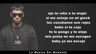 Anuel AA - Tentandome Video (Letra)