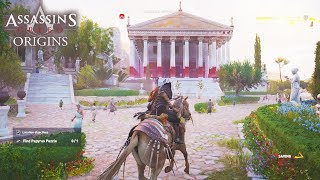 Assassin's Creed Origins - TOUR OF ENTIRE MAP! New Gameplay Walkthrough With Map Size!