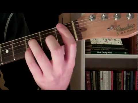 How To Play the Bb7 Chord On Guitar (B flat seventh) 7th