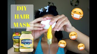 Egg & Mayonnaise Protein Hair Mask For Dry/Damaged Hair | Cali Curls