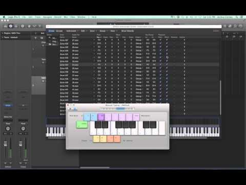 Logic Pro X – Video Tutorial 54 – EXS24 Sampler Tutorial (PART 1) Sample Management and Automap