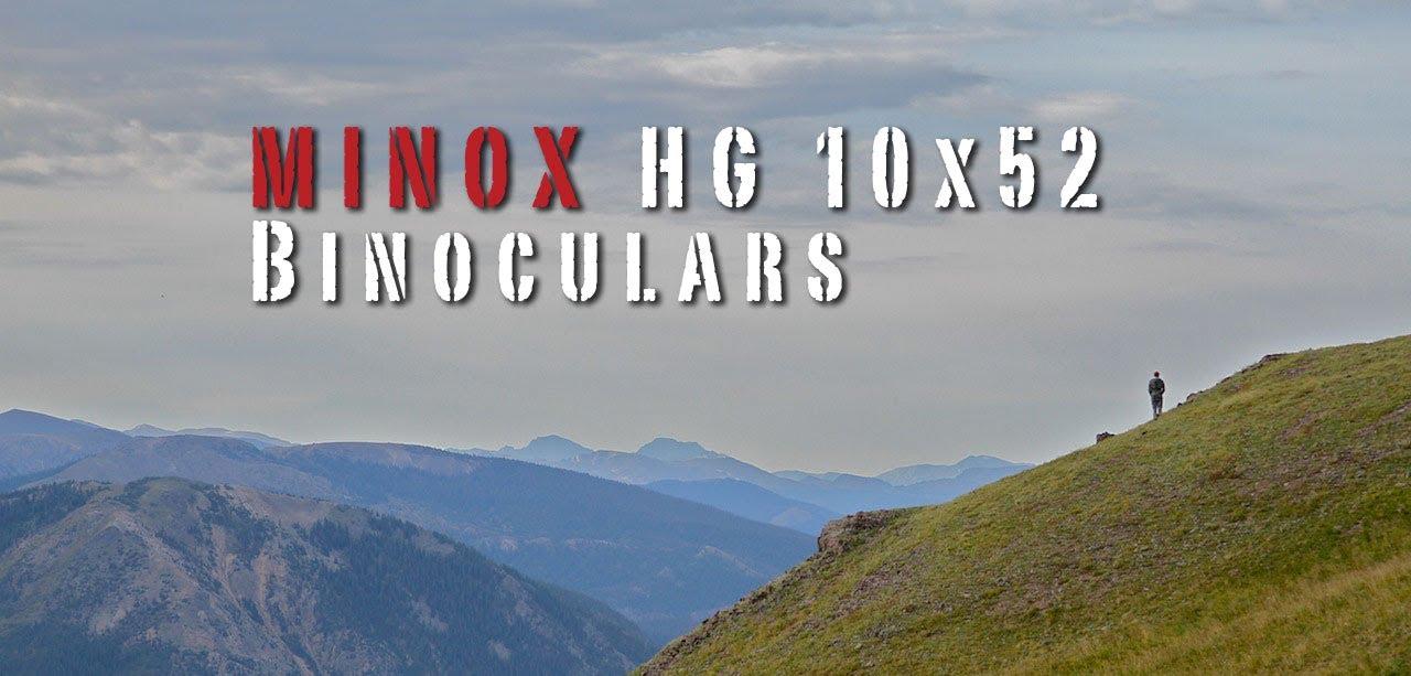 Видео о товаре Бинокль MINOX HG 10x52 BR