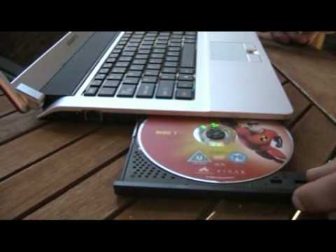 GIGABYTE M1405 notebook.wmv