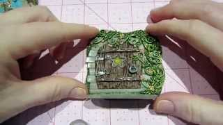 Polymer Clay Fairy Doors And Tiles