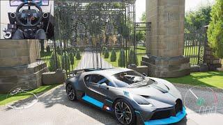 Bugatti Divo - Forza Horizon 4   Logitech g29 gameplay