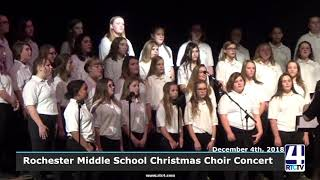 Rochester Middle School Christmas Concert - 12-4-18