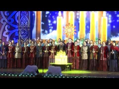 Кубанский казачий хор подарил зрителям колядки