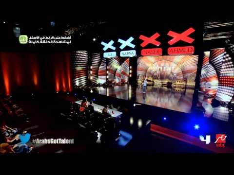"""السوري أيمن خلف صاحب أبشع صوت في تجارب أداء """"Arabs Got Talent"""""""