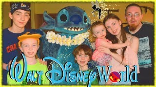 Disney World Vlog Family Fun Breakfast with Lilo and Stitch, Lunch With the Beast, and Magic Kingdom