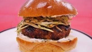 Sweet and Spicy Burger Recipe: Best Grilled Burger Recipe: How To: Diane Kometa-Dishin' With Di #90