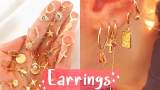 15 DIY Earrings EASY & Adjustable!! How To Make Hoops & Ear Cuffs | Create Your Own Jewelry