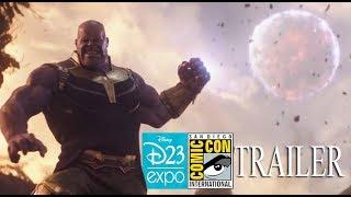 Infinity War D23/SDCC Trailer Recreation in HD