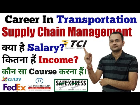 Course - Career In Transportation | Logistics & Supply Chain ...