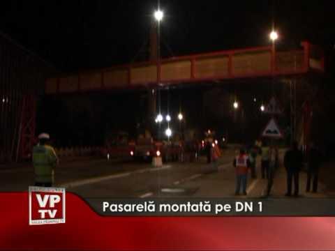 Pasarelă montată pe DN1