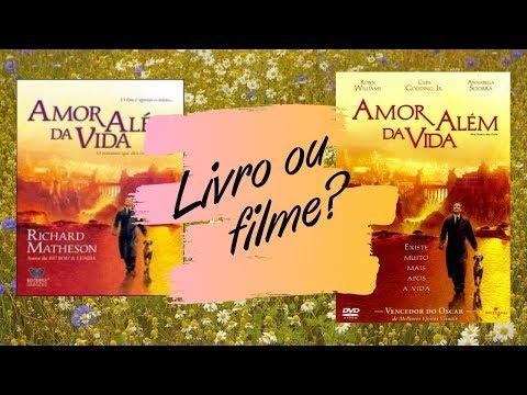 Livro x Filme #1 - Amor além da vida (comparação) | Nata da Leitura