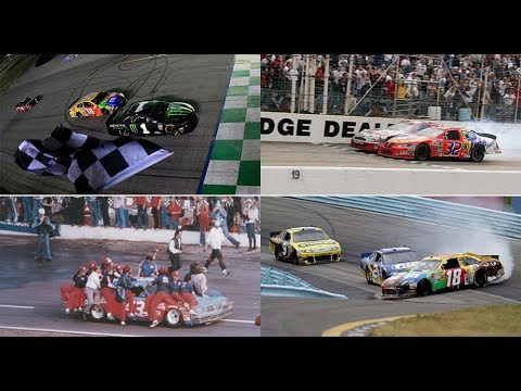 NASCAR Countdown: Top 10 last laps in NASCAR history