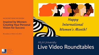 Celebrating International Women's Month with Women of Vision