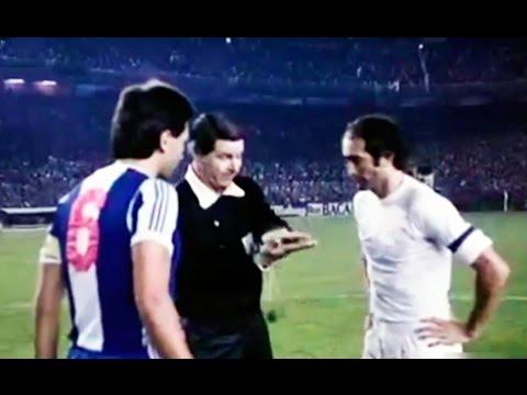 Real Madrid vs Oporto - Copa de Europa 1979 Estadio Santiago Bernabeu  - RM 1 Porto 0