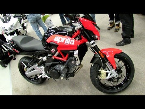 2012 Aprilia Shiver 750 - Walkaround - 2013 Montreal Motorcycle Show