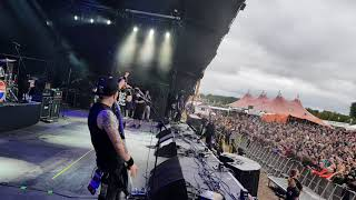 Jasta 'Replica' Dino Cazares  Bloodstock Festival 2018 stage view Fear Factory cover
